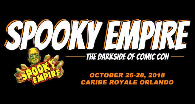 Come See Kathy Najimy (and us) at Spooky Empire! October 26 ~ 28! 1