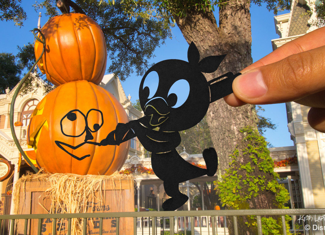 Disney Parks in Silhouette: Halloween at Magic Kingdom Park 1
