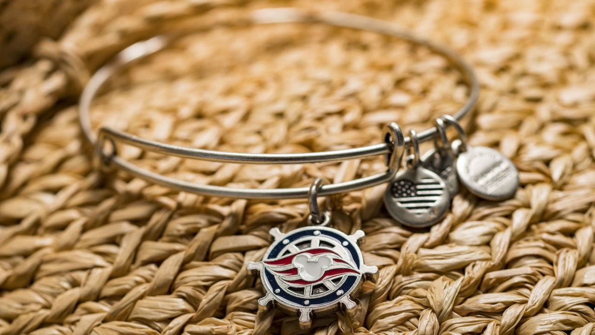 New ALEX AND ANI Bangle Charms Available Exclusively on Disney Cruise Line
