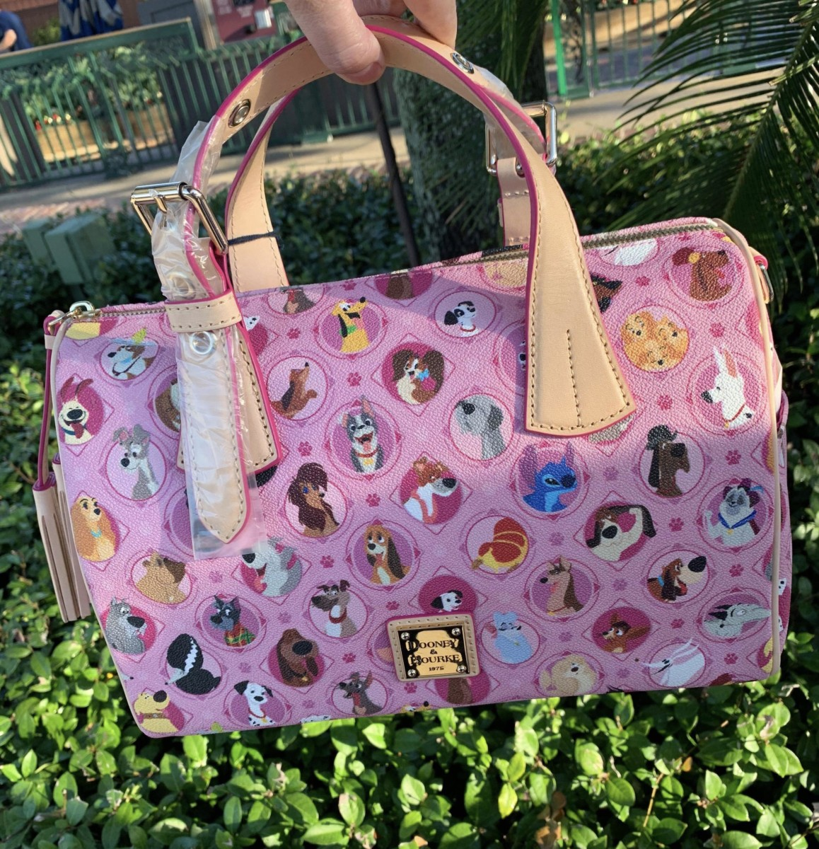 New Dooney and Bourke Dog Print Bags are Here! #DisneyStyle 2