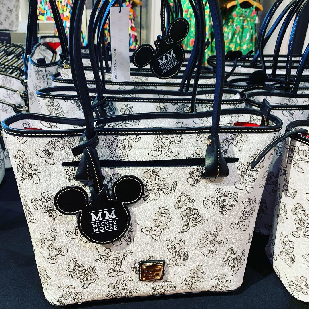 Celebrate In Style With Mickey's 90th Dooney And Bourke Bags And More - By Lindsey