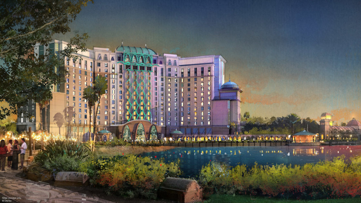 New Details Unveiled On Gran Destino Tower at Disney's Coronado Springs Resort, Set to Open July 2019 1