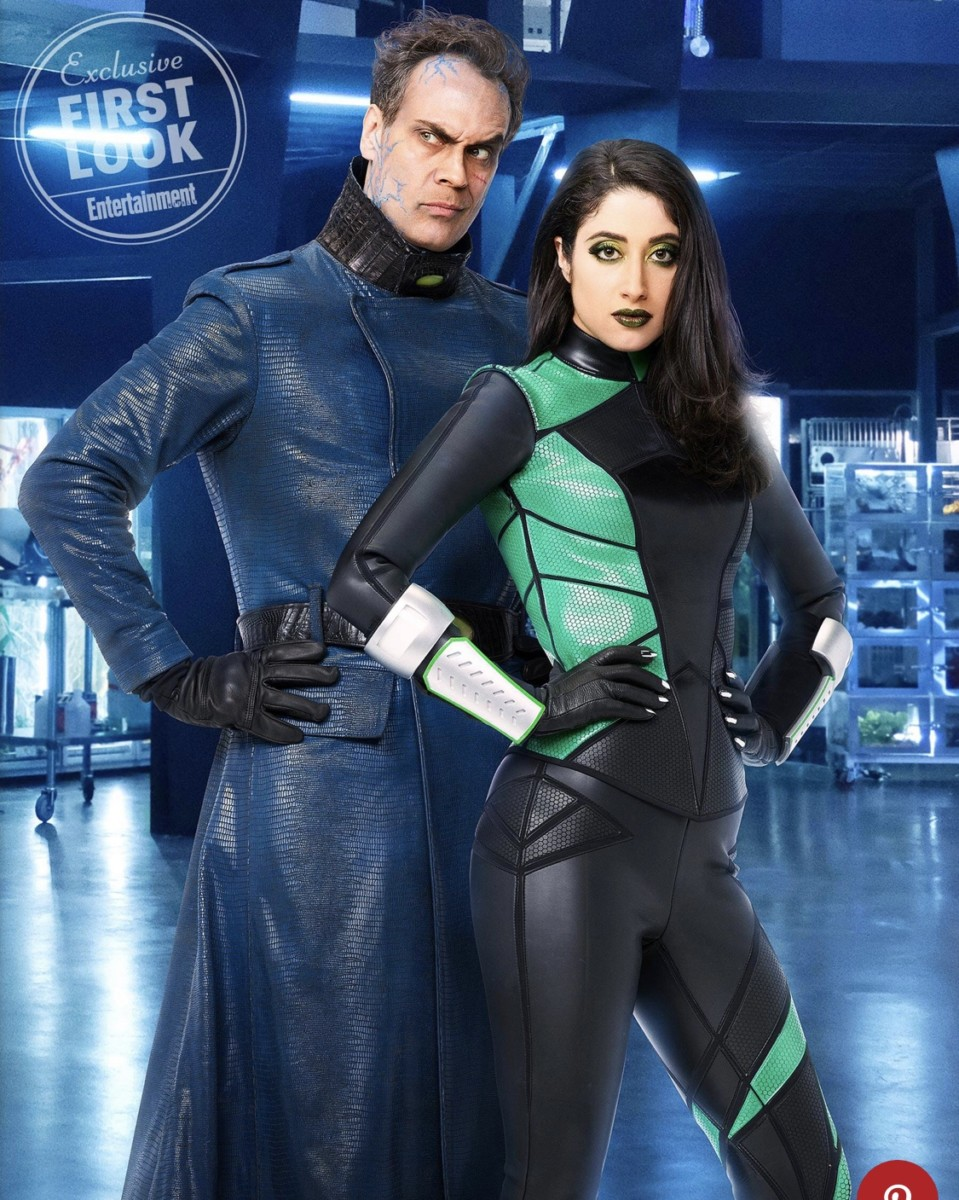 See what Dr. Drakken and Shego look like in Disney's live-action Kim Possible movie! 1
