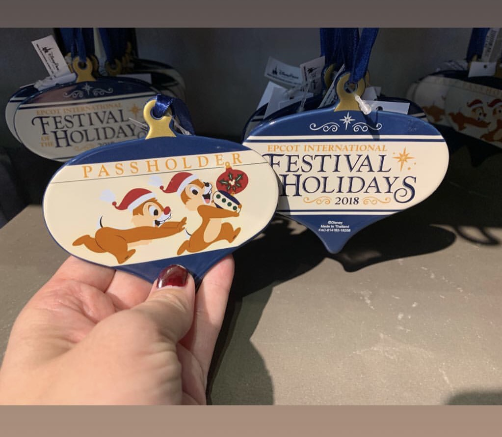 Epcot's International Festival of the Holidays has Begun! 13