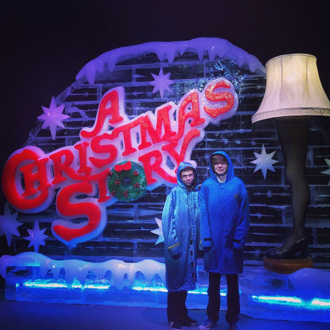 Gaylord Palms ICE, A Christmas Story and More! #CAGP18 1