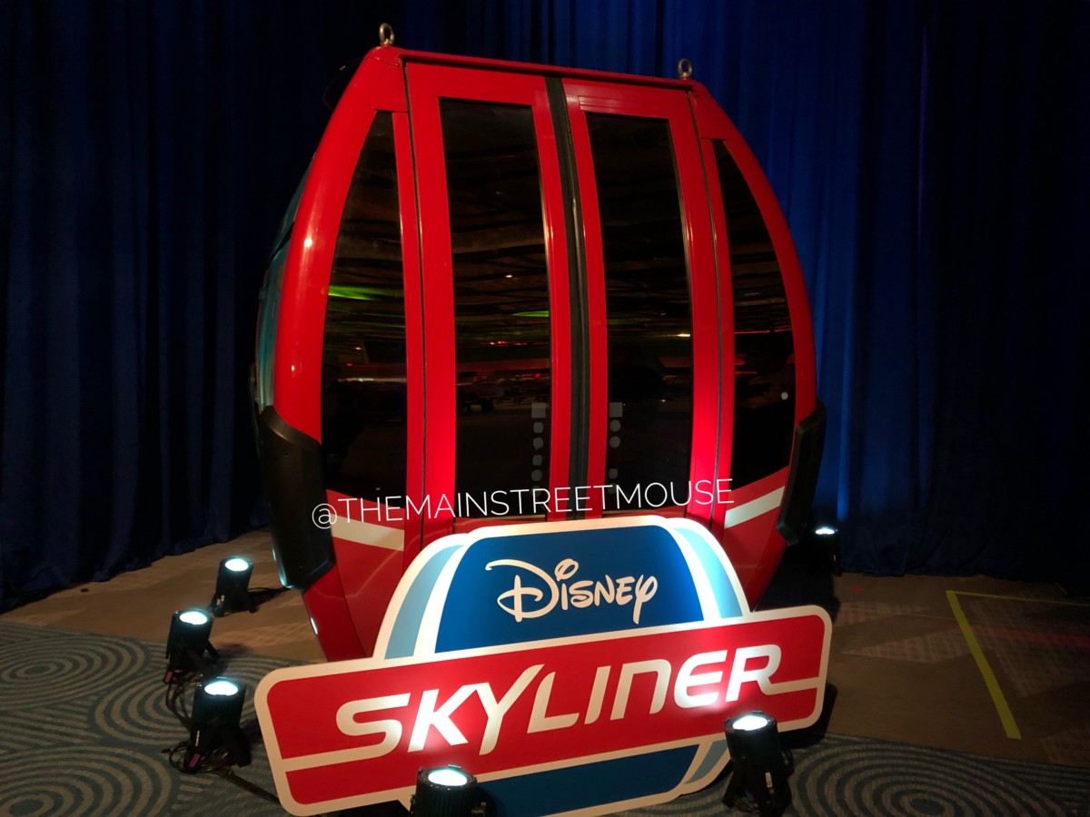 First Look: Disney Skyliner Gondola at Walt Disney World Resort 1