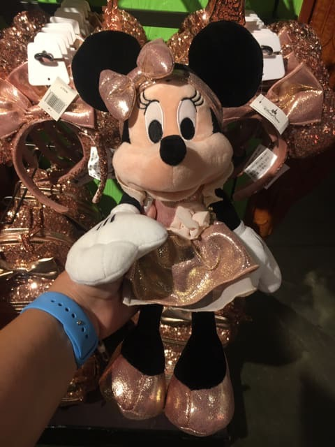 New Rose Gold Minnie Plush is Here! 1