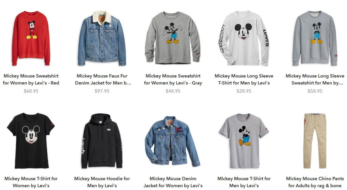 You don't want to miss this! Exclusive True Original Mickey Merch Collaborations for every Disney fan. 1