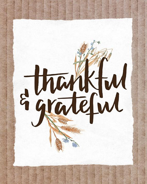 Practicing Gratitude - A Thanksgiving Message 1