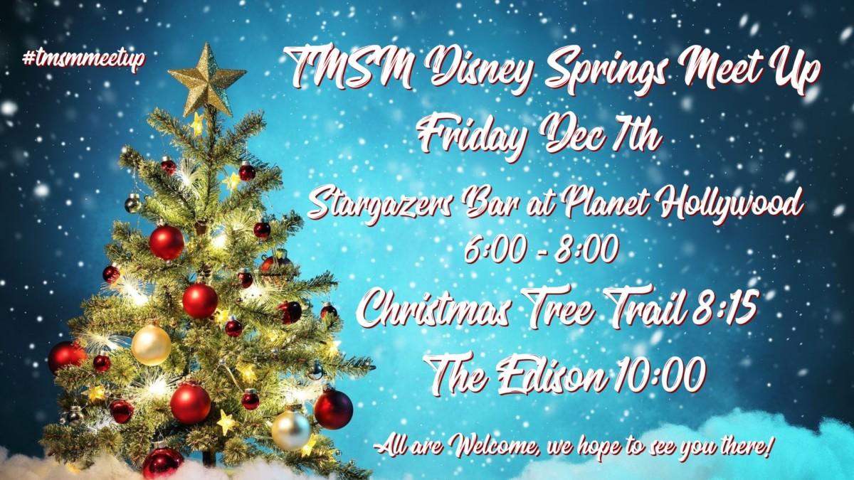 TMSM Meet Up Weekend is HERE! #DisneyHolidays 2