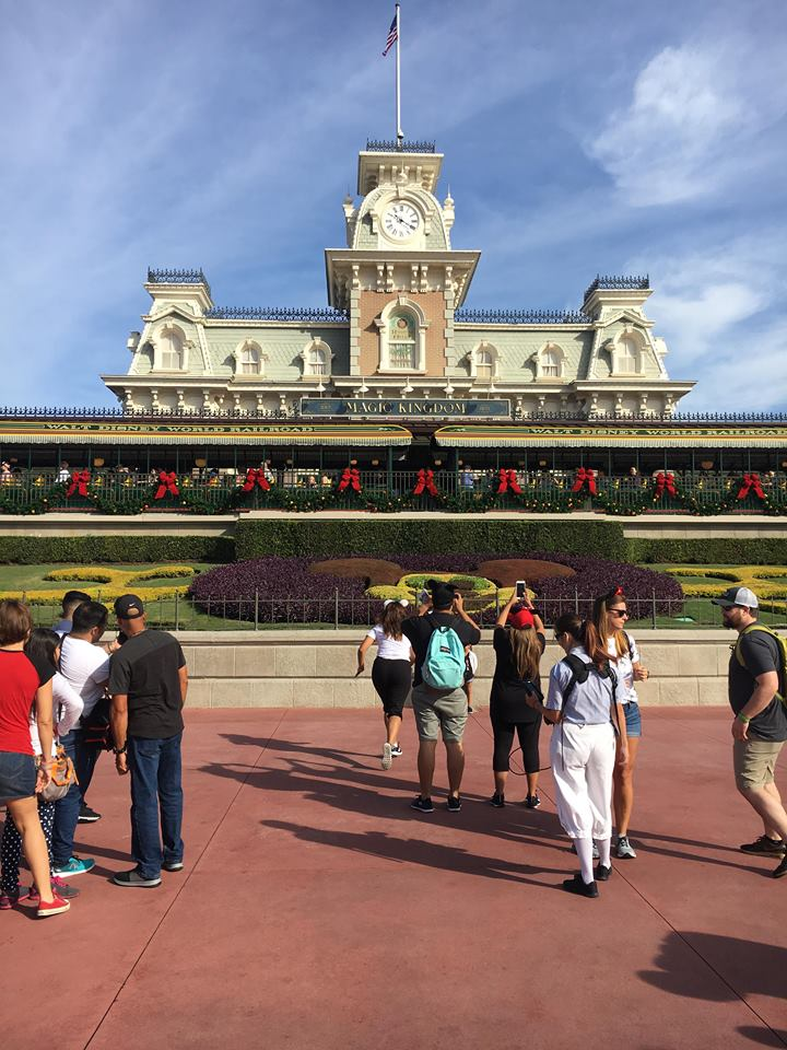Christmas Decorations are Appearing at Magic Kingdom! 6