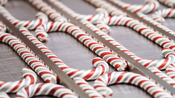 Hand-Pulled Candy Canes for Holidays at Disneyland Resort