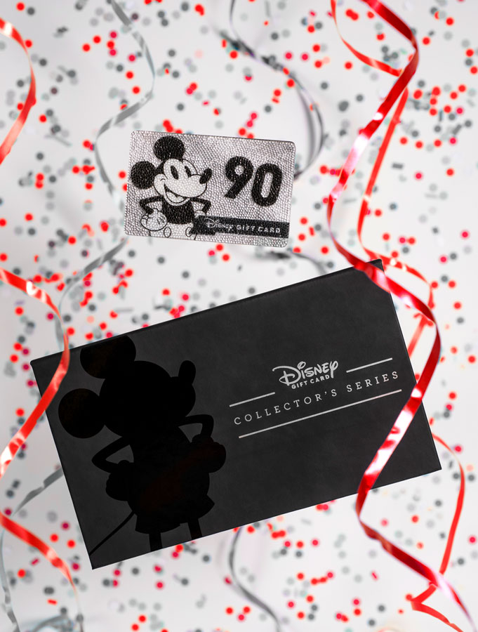 Disney Gift Card Collector's Series card and custom box