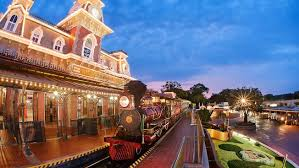 All Aboard the Magic Kingdom train before its temporary close! 3