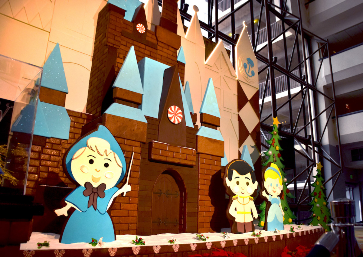 2018 Gingerbread Display at Disney's Contemporary Resort