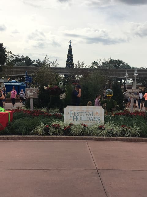 Epcot's International Festival of the Holidays has Begun! 2