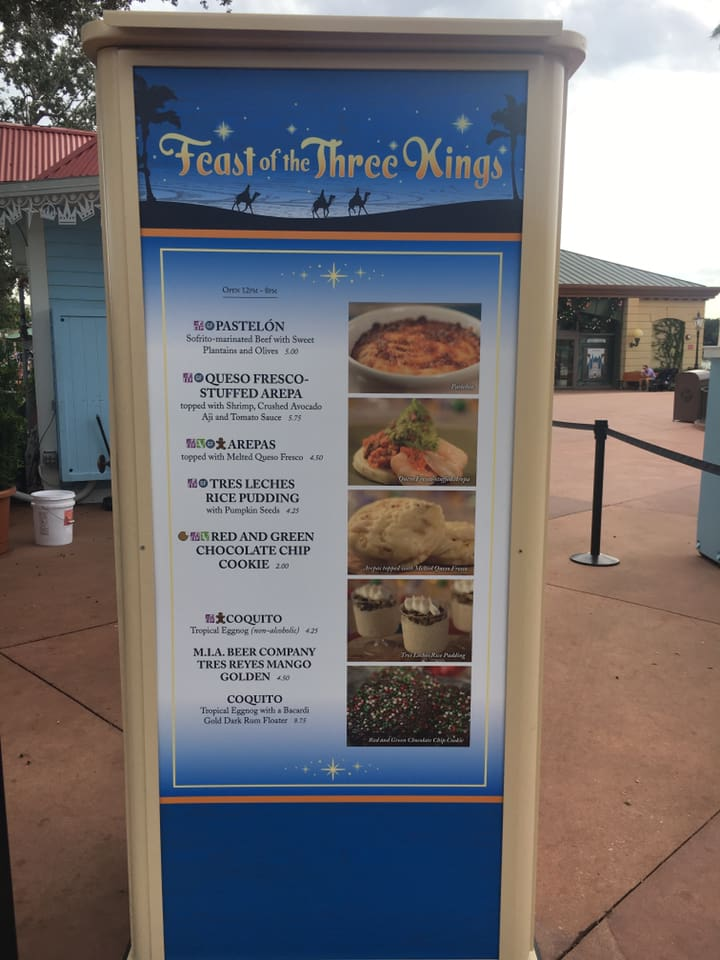 Epcot's International Festival of the Holidays has Begun! 5