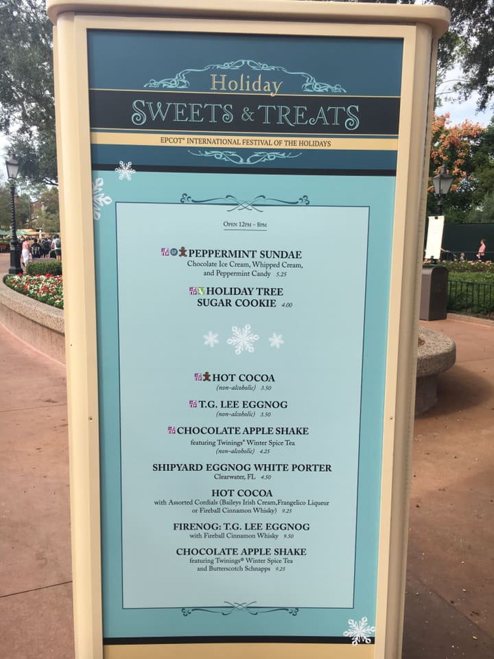 Epcot's International Festival of the Holidays has Begun! 7