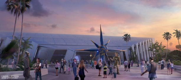 Epcot's Guardians of the Galaxy Attraction to Feature 'Storytelling Coaster' Ride Vehicle 1