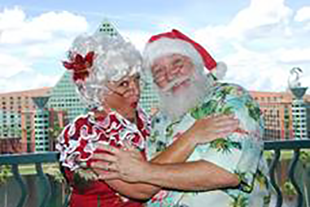 Holiday festivities and Santa return to the Walt Disney World Swan and Dolphin Resort 1