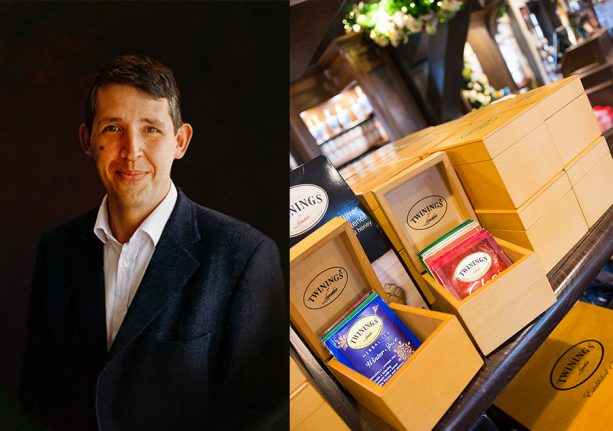 Stephen Twining from Twinings of London Returns to Epcot this Thanksgiving Weekend 1