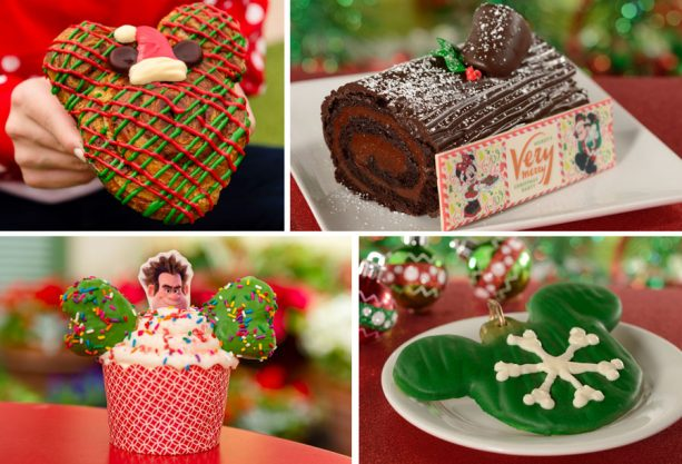 Desserts at Main Street Bakery for Mickey's Very Merry Christmas Party at Magic Kingdom Park