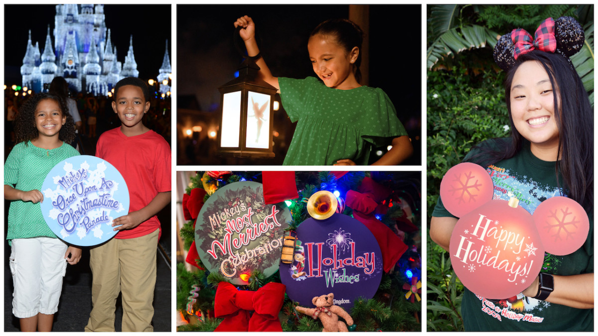 Holiday Props from Disney Photopass Photographers