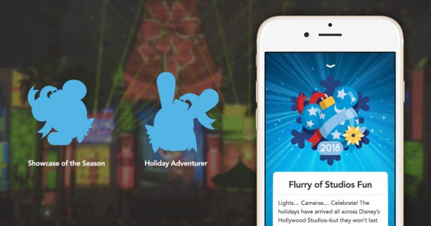 Play Disney Parks mobile app - special achievements at Disney's Hollywood Studios