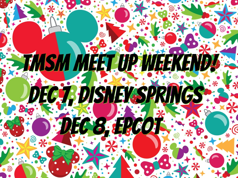 TMSM Meet Up Weekend is HERE! #DisneyHolidays 1