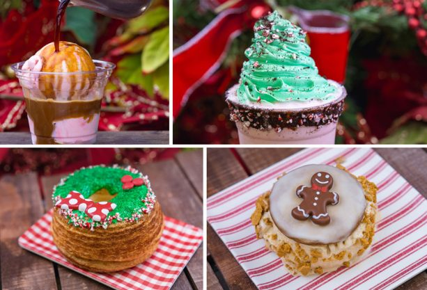 Holiday Treats from Schmoozies at Disney California Adventure Park for 2018 Holidays at Disneyland Resort