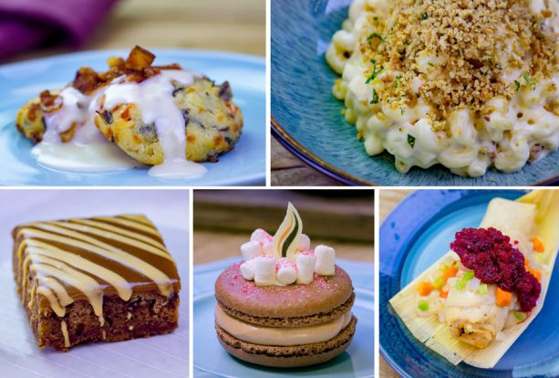 Top Eats at Disney Festival of Holidays at Disney California Adventure Park