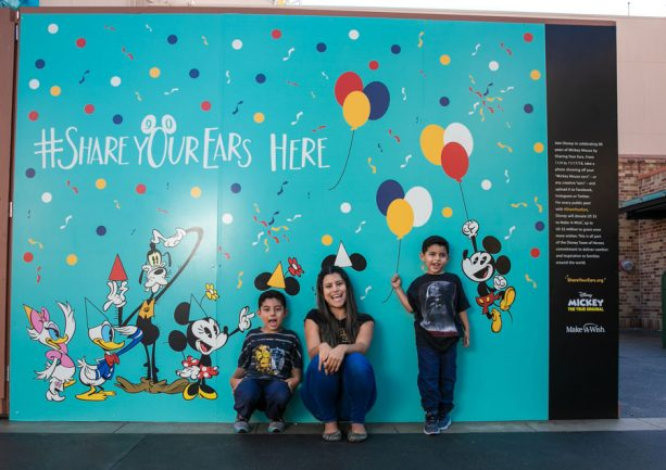 #ShareYourEars wall at Disney's Hollywood Studios