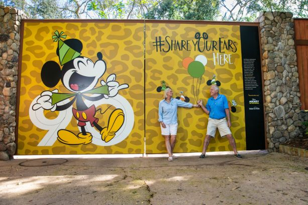 #ShareYourEars wall at Disney's Animal Kingdom