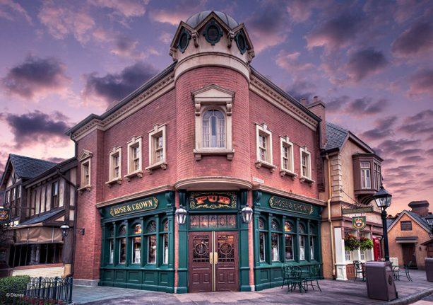 Rose & Crown Pub & Dining Room Tea Experience,Walt Disney World Resort
