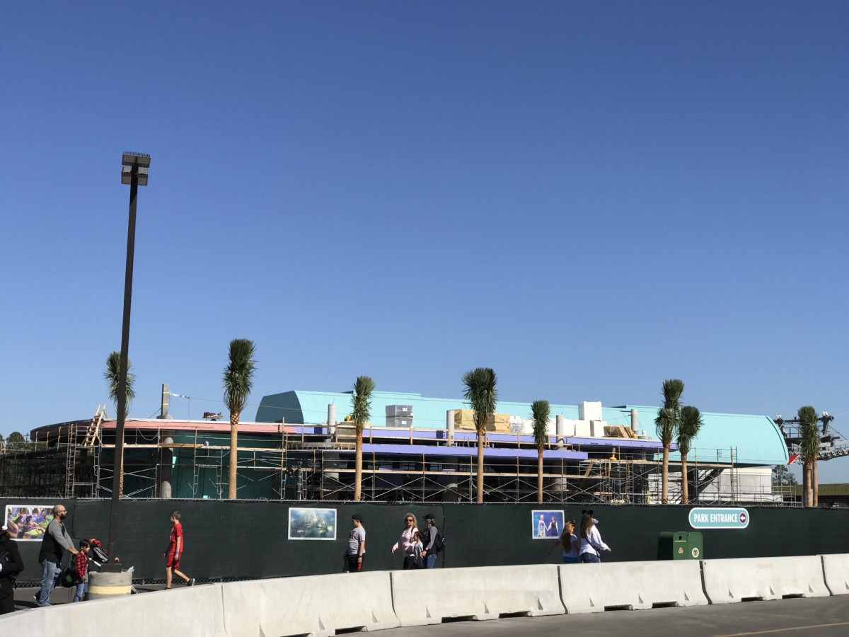Cables Have Gone Up On The Disney Skyliner 5
