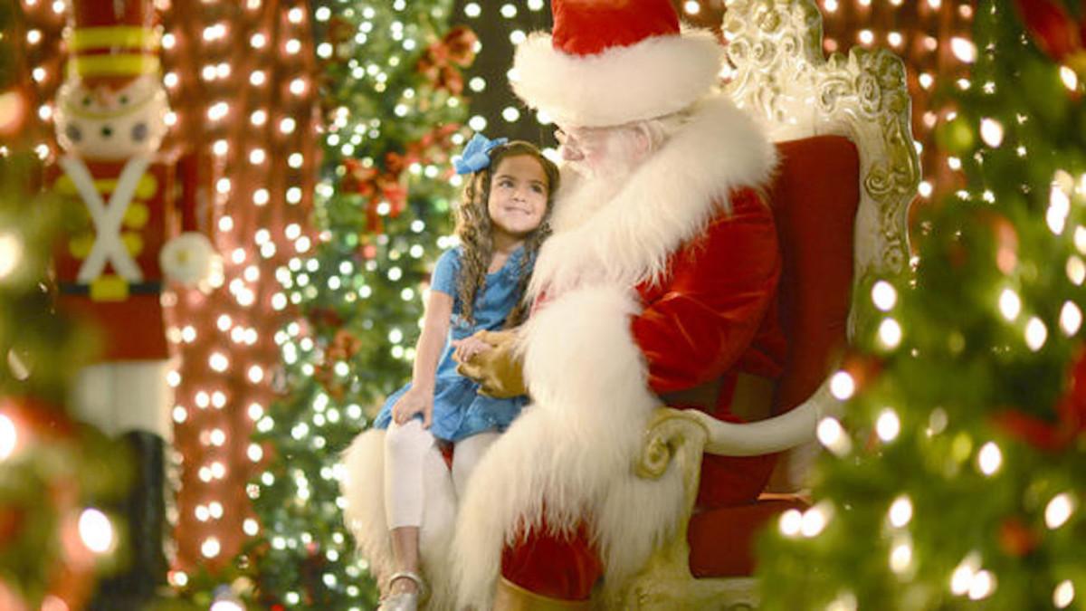 Meet Santa at Santa's Chalet at Disney Springs