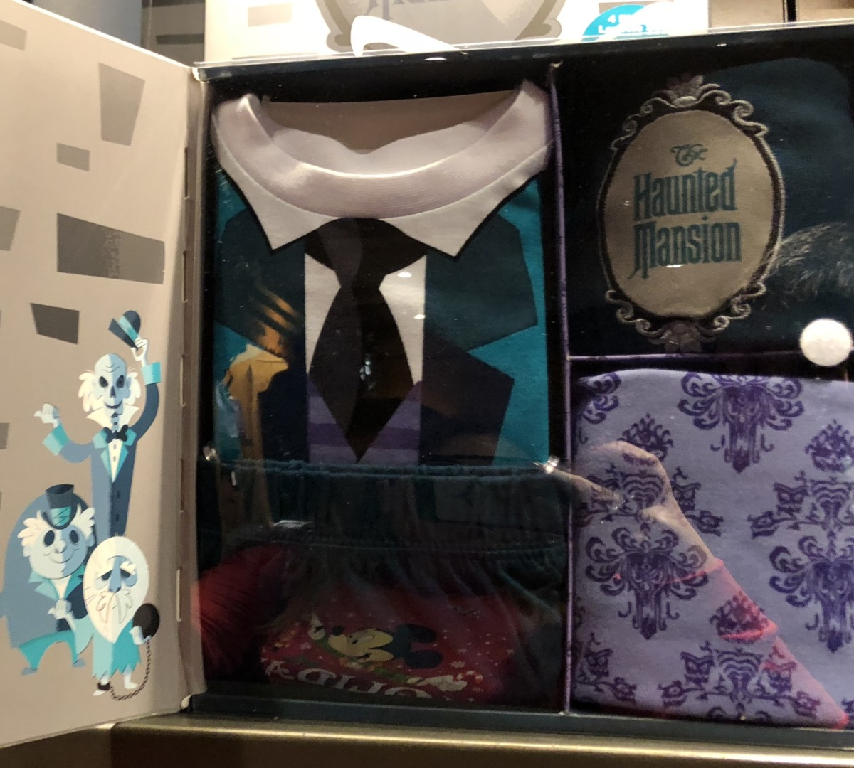 New Haunted Mansion Layette Set for Babies at Memento Mori! 2