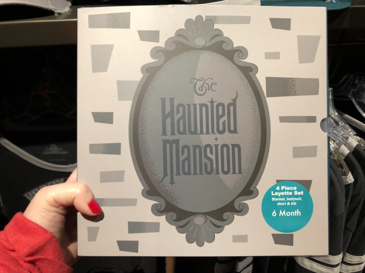 New Haunted Mansion Layette Set for Babies at Memento Mori! 3