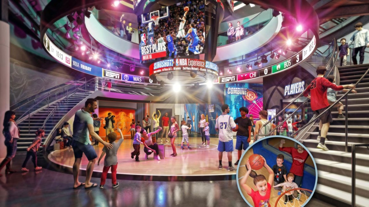 NBA Experience at Disney Springs Will Help You Feel Like a Pro – New Details Revealed! 1
