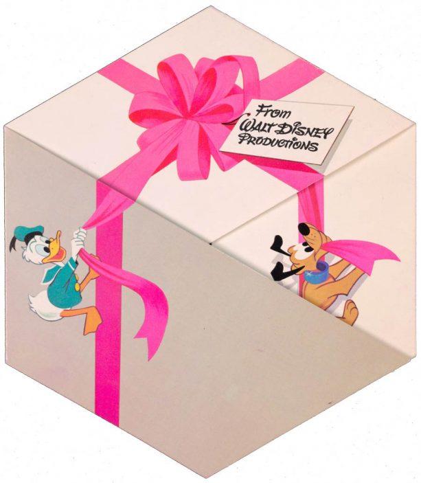 1971 card featuring Walt Disney World Resort