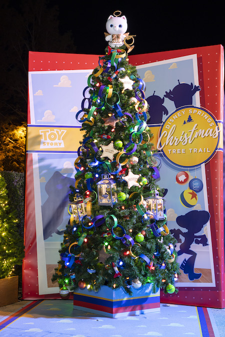 'Toy Story' Tree on The Disney Springs Christmas Tree Trail