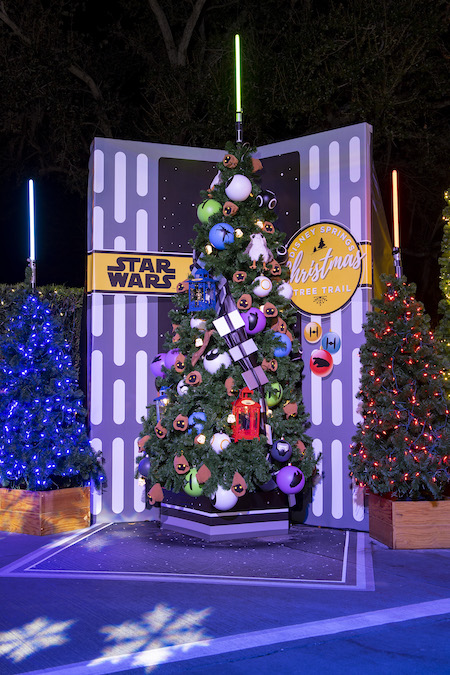 Star Wars Tree on The Disney Springs Christmas Tree Trail