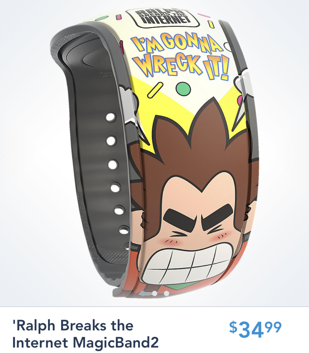 New Character Magic Bands Available on the Disney Shop Parks App 6