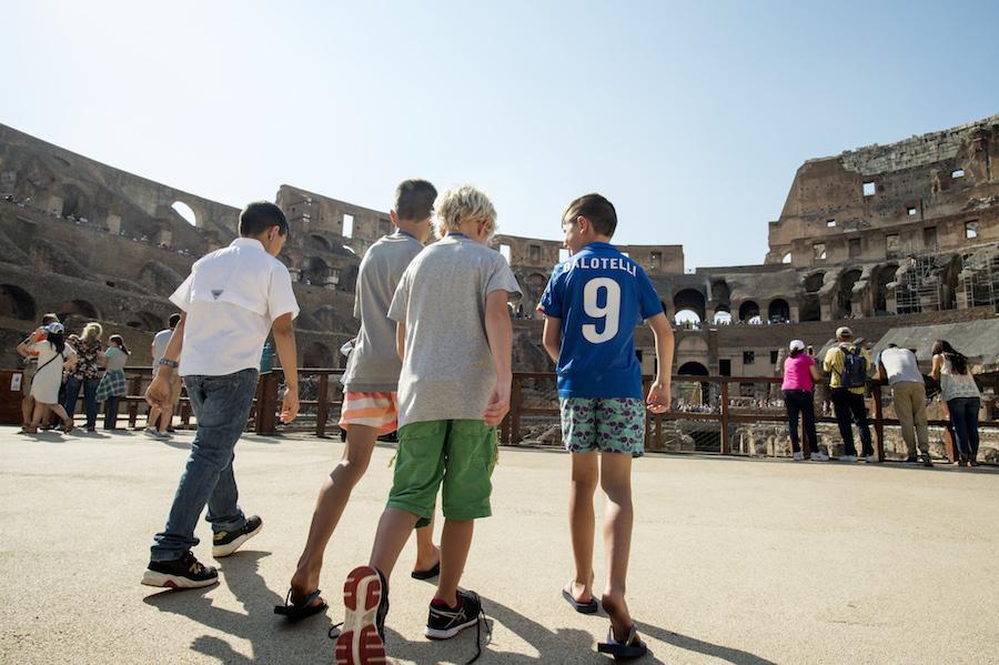 Family in Rome
