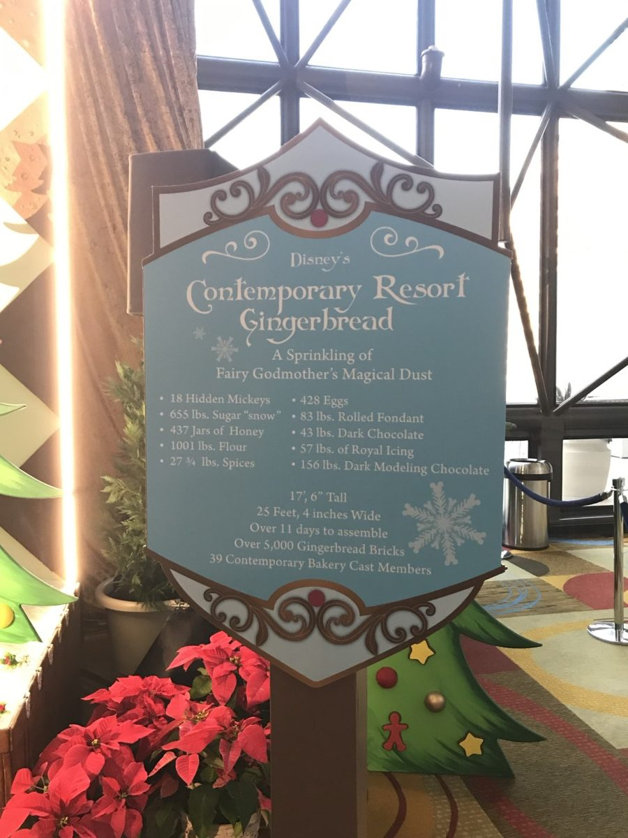 Holiday Decor at Disney's Contemporary Resort 5