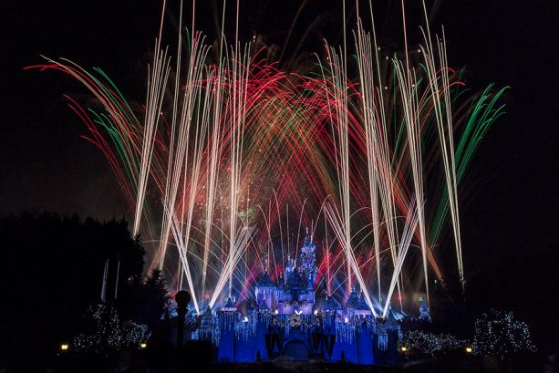 "Disney Parks After Dark: ""Believe…in Holiday Magic"" Fireworks Spectacular in Disneyland Park 12"