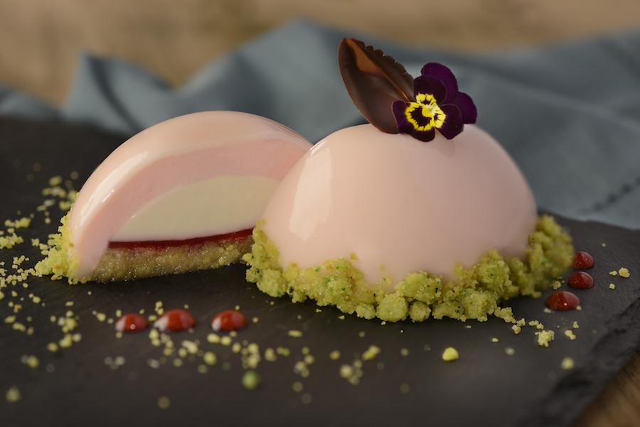Vanilla, Rose Water and Pistachio Panna Cotta (The Masterpiece Kitchen)
