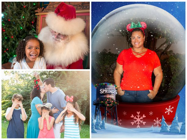 Holiday Photos at Disney Springs