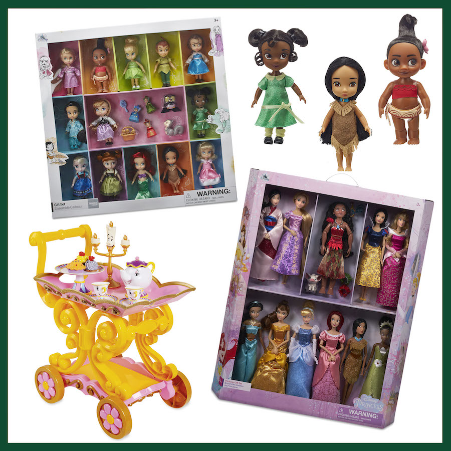 Doll Gift Sets and Beauty and the Beast ''Be Our Guest'' Singing Tea Cart Play Set from ShopDisney.com