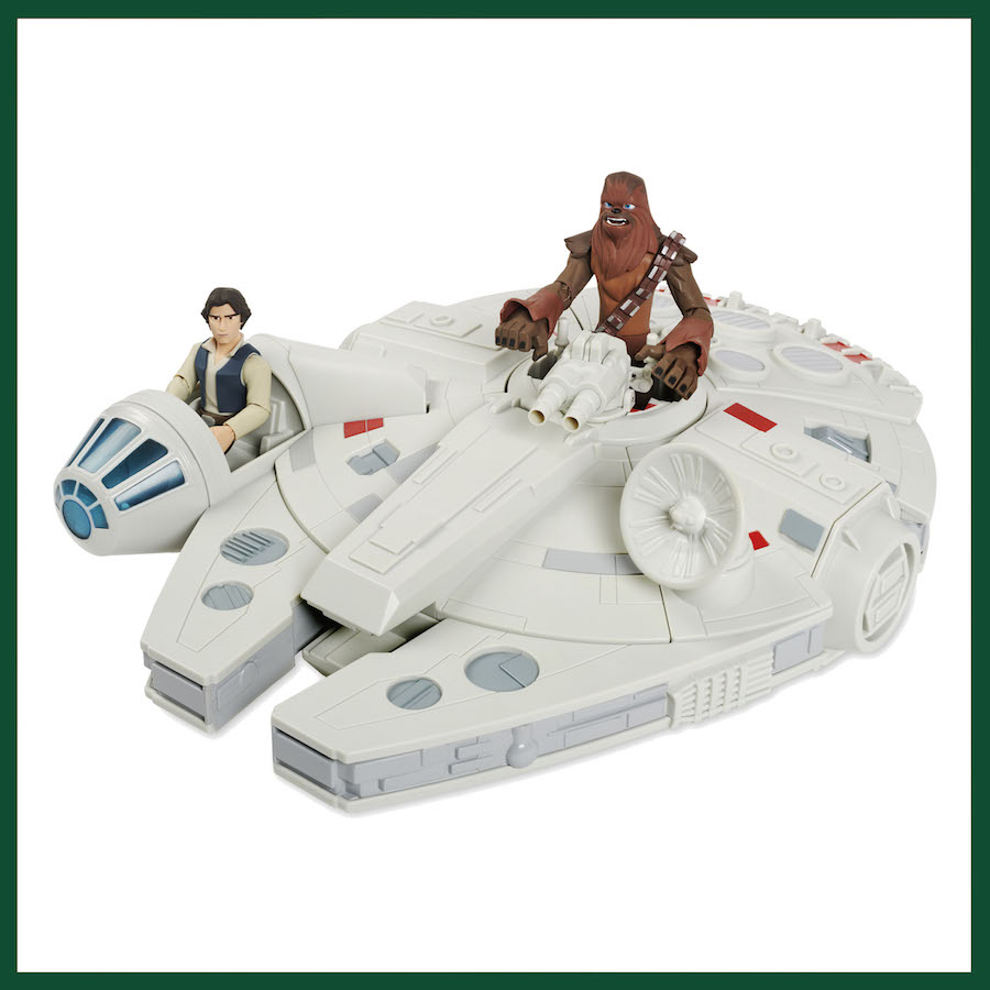 Millennium Falcon Toy Box Vehicle from ShopDisney.com